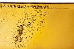 Gelbe Flüssigkeit stockbilder