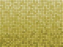 Gelbe Fliese Stockfotografie