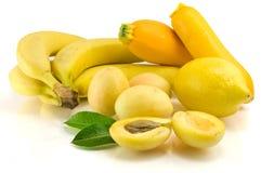 Gelbe Früchte Stockfotos