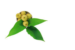 Gelbe Frucht Lizenzfreies Stockbild