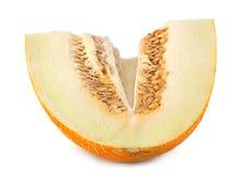 Gelbe Frucht der Melone Stockbild