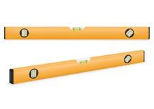 Gelbe Gebäudestufe Stockfoto