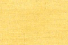 Gelbe Gewebebeschaffenheit stockfotografie