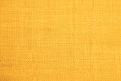 Gelbe Gewebebeschaffenheit Hintergrundbeschaffenheitsfarbe Stockbilder