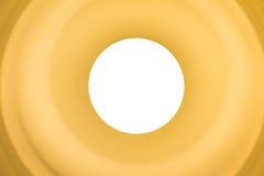 Gelbe Glühlampe Stockfoto