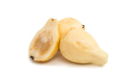 Gelbe Guajava-Frucht Stockfotografie
