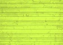 Gelbe hölzerne Planken Lizenzfreie Stockfotografie