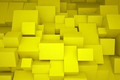 Gelbe Kästen Lizenzfreie Stockfotos