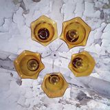 Gelbe Lampe Stockfotografie