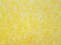 Gelbe malende Kunst des Hintergrundmusters, Gewebe, Grafik stockbild