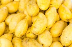 Gelbe Mango Lizenzfreies Stockfoto