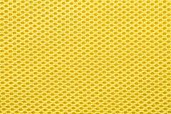 Gelbe Masche für Hintergrund Stockfoto