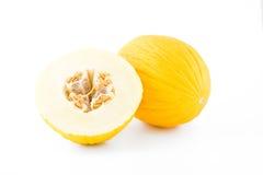 Gelbe Melone Stockbilder