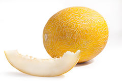 Gelbe Melone Lizenzfreie Stockfotografie