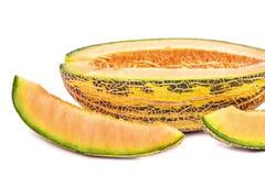 Gelbe Melone Stockfotos