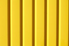 Gelbe metall Beschaffenheit Stockfotografie