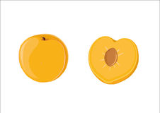 Gelbe Pflaume stock abbildung