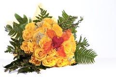 Gelbe Rose Stockfotos