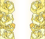 Gelbe Rosen stock abbildung