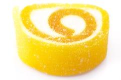 Gelbe Süßigkeit Lizenzfreies Stockfoto