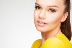 Gelbe Schönheit Stockbild