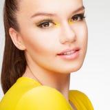 Gelbe Schönheit Lizenzfreies Stockbild