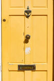 Gelbe Tür Lizenzfreie Stockbilder