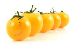 Gelbe Tomate Lizenzfreies Stockfoto