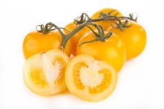 Gelbe Tomate stockbilder