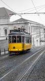 Gelbe Tram, Lissabon, Portugal Stockfoto