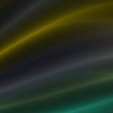 Gelbe und grüne Streifen des Lichtes Stockfoto