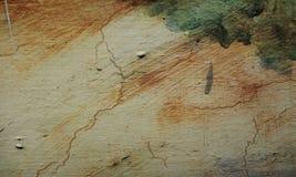 Gelbe und gr?ne Wandbeschaffenheit des Schmutzes des konkreten Bodenhintergrundes f?r Schaffungszusammenfassung stockbild