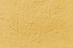 Gelbe Wand Stockfoto