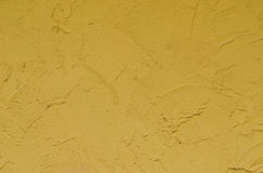 Gelbe Wand Stockfotografie