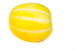 Gelbe Wassermelone Lizenzfreies Stockfoto