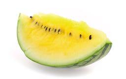 Gelbe Wassermelone Stockfotografie