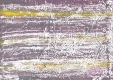 Gelbe Zeichnungsillustration der farbigen Wäsche des Graus Stockfoto