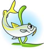 Gelbe Ziege-Fische vektor abbildung