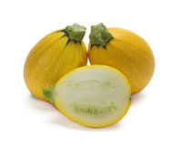 Gelbe Zucchini Lizenzfreies Stockfoto