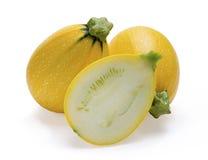 Gelbe Zucchini Lizenzfreie Stockfotos