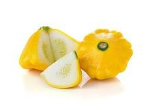 Gelbe Zucchini oder sommer Kürbis Lizenzfreie Stockfotografie