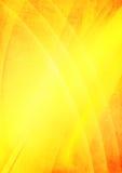 Gelber abstrakter Hintergrund Lizenzfreie Stockfotografie