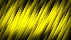 Gelber abstrakter Hintergrund auf dem schwarzen Streifen Lizenzfreies Stockbild