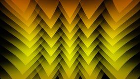 Gelber abstrakter Hintergrund auf dem schwarzen Streifen Lizenzfreie Stockbilder