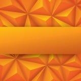 Gelber abstrakter Hintergrundvektor Stockfotografie