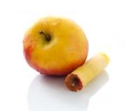 Gelber Apfel Stockfoto