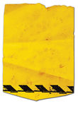 Gelber Aufkleber lizenzfreie abbildung
