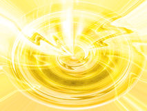 Gelber Auszug Stockbild