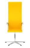 Gelber Bürostuhl Stockfotos