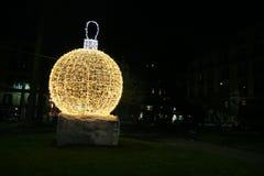 Gelber Ball Stockbild